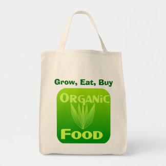 Crezca, coma, compre el bolso del alimento bolsa de mano