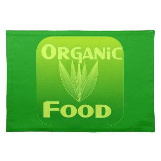 Crezca, coma, compre el placemat del alimento biol manteles individuales