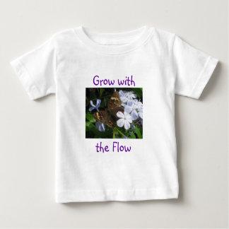 Crezca con el flujo t shirts