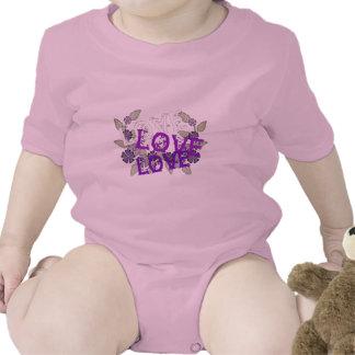 Crezca el amor trajes de bebé