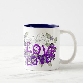 Crezca el amor taza de café