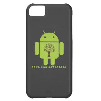 Crezca el ecosistema (el árbol de Droid Brown del Carcasa iPhone 5C
