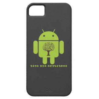 Crezca el ecosistema (el árbol de Droid Brown del Funda Para iPhone SE/5/5s