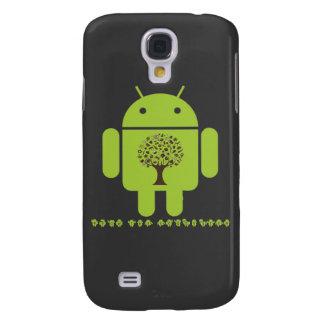 Crezca el ecosistema (el árbol de Droid Brown del Funda Samsung S4
