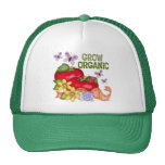 Crezca el gorra orgánico