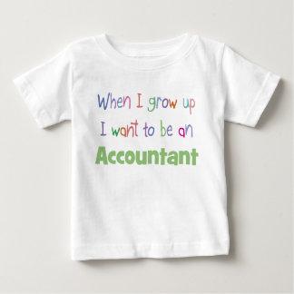 Crezca la camiseta del niño del contable polera