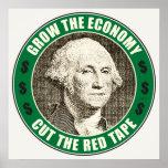Crezca la economía posters