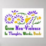 Crezca la No-Violencia Impresiones