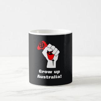 Crezca la taza de Australia