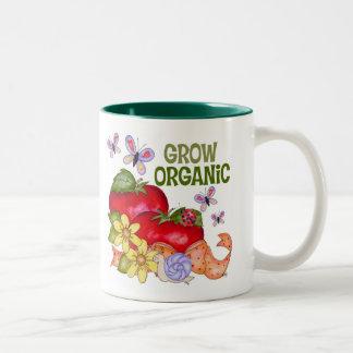 Crezca la taza orgánica
