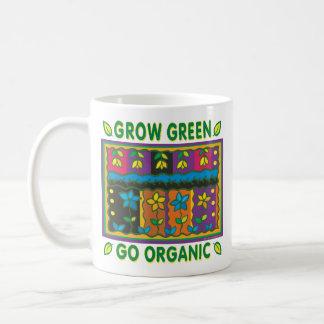 Crezca orgánico taza