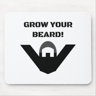 ¡Crezca su barba! Alfombrilla De Ratones