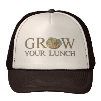 Crezca su gorra del camionero del almuerzo