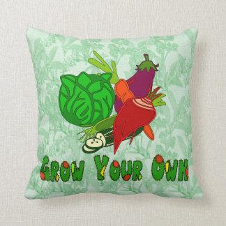 Crezca sus los propios almohadas