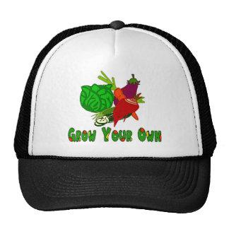 Crezca sus los propios gorras de camionero