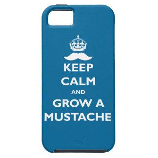 Crezca un bigote funda para iPhone SE/5/5s