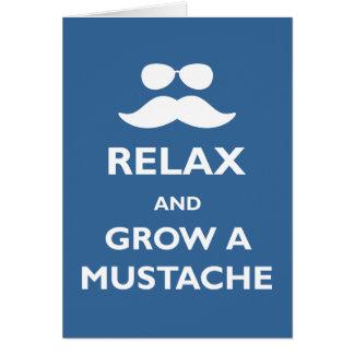Crezca un bigote felicitaciones