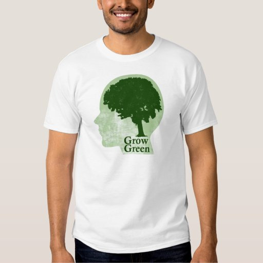 Crezca verde playeras