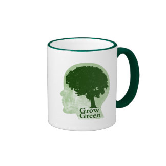 Crezca verde taza