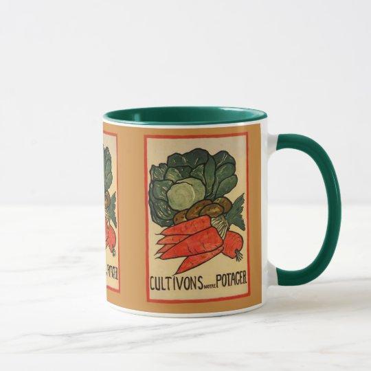 Crezcamos un huerto taza