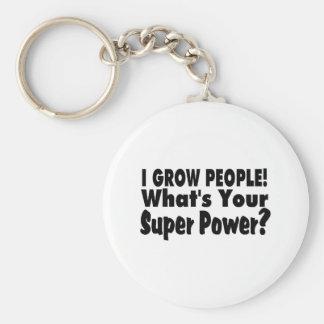 Crezco a gente Cuál es su superpoder Llaveros