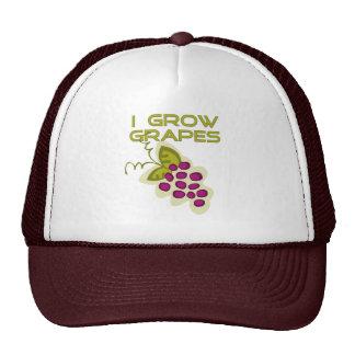 Crezco las camisetas y los regalos de las uvas gorras de camionero