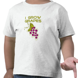 Crezco las camisetas y los regalos de las uvas