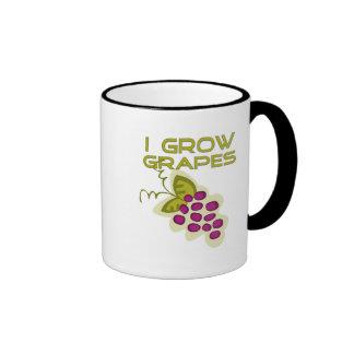 Crezco las camisetas y los regalos de las uvas taza