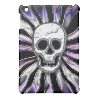 Crhome Retro Skull  Case For The iPad Mini