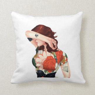 Cria Cuervos Throw Pillow