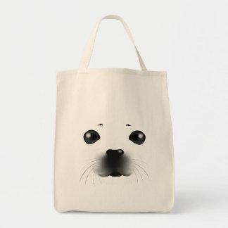 Cría de foca bolsa de mano