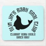 Cría de foca Clubber Alfombrillas De Ratones
