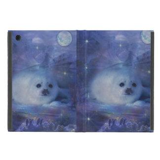 Cría de foca en el hielo - paisaje marino hermoso iPad mini cárcasa