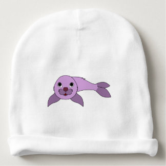 Cría de foca purpúrea clara gorrito para bebe