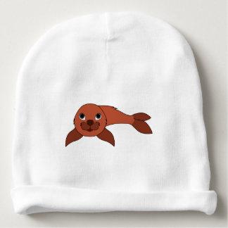 Cría de foca roja gorrito para bebe
