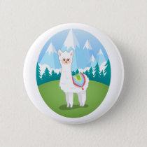 Cria The Alpaca Button