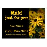 Criada apenas para usted tarjetas de visita