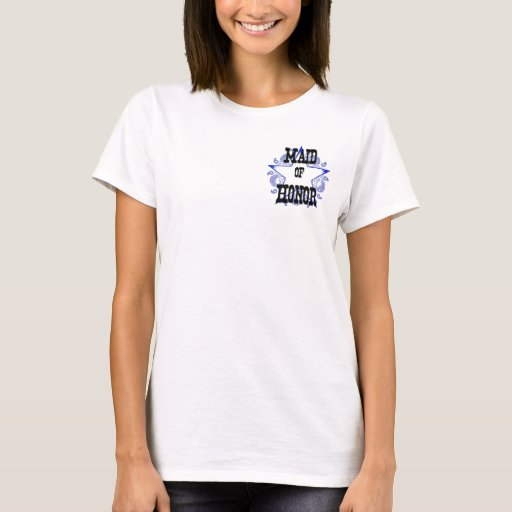 Criada azul occidental de la camiseta del sheriff