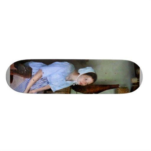 Criada colonial tablas de skate