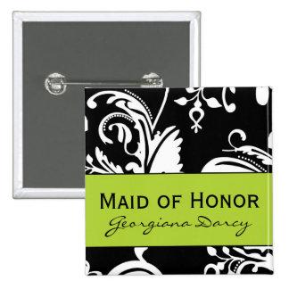 Criada cuadrada de B&G del botón del honor Pin Cuadrado