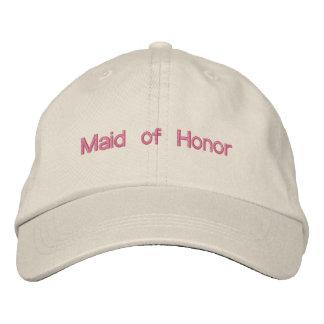Criada de encargo del boda del color de la fraseol gorras bordadas