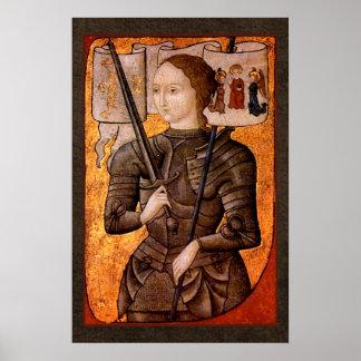 Criada de Juana de Arco de Orleans Póster