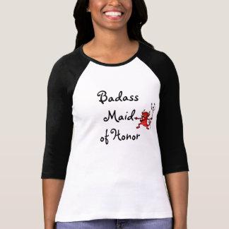 Criada de la camiseta del honor camisas