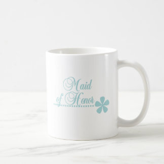 Criada de la elegancia del trullo del honor tazas de café