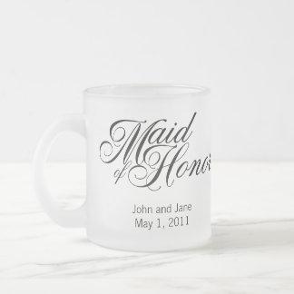 Criada de la taza del honor