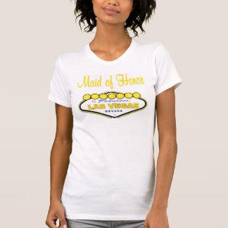 Criada de Las Vegas de la camiseta del honor