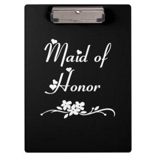 Criada de los bodas del honor