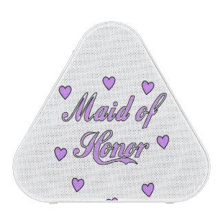 Criada de los corazones del boda del honor altavoz bluetooth
