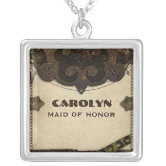 Criada de Steampunk del Victorian del collar del h