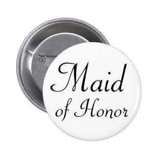 Criada del botón de Pinback del honor